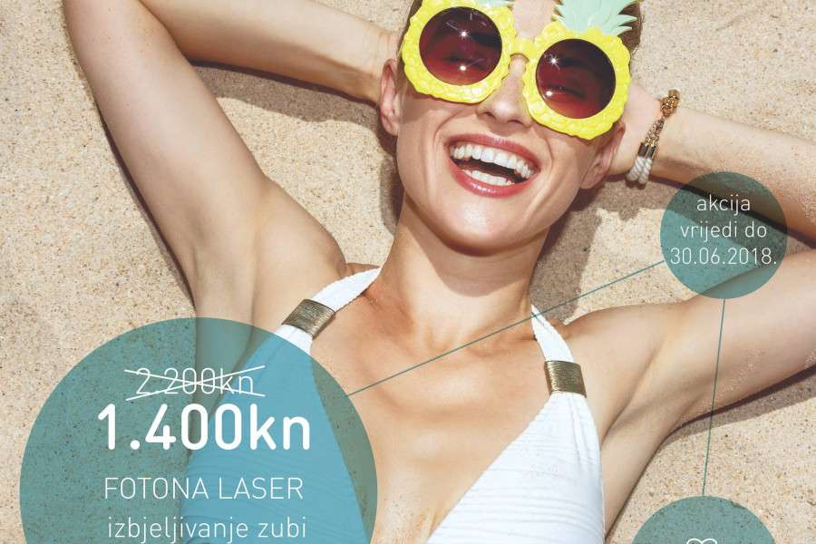 Ovo ljeto priuštite sebi ili svojim bližnjima blistavi osmijeh uz našu specijalnu ponudu!
