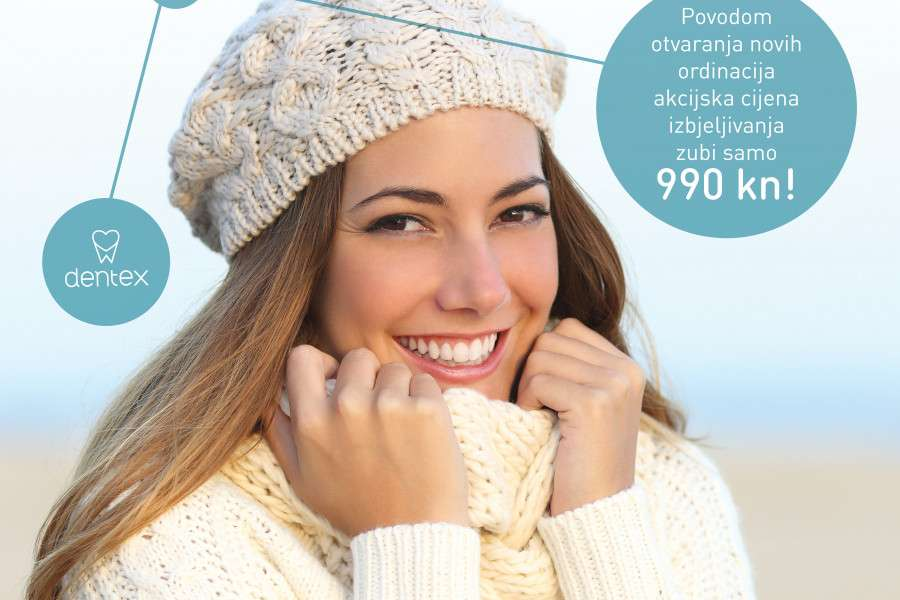 Super akcijska cijena izbjeljivanja zubi sa Fotona laserom za 990 kn!