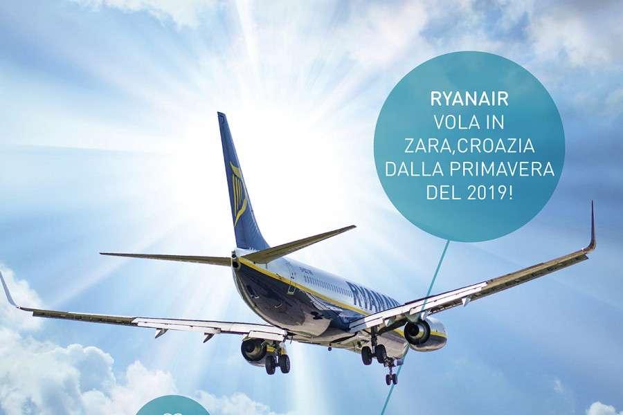Ryanair vola in Zara